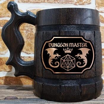 Dungeon Master Beer Mug