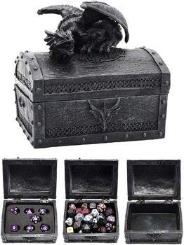 Forged Dice Co Deluxe Dragon Dice Storage Box