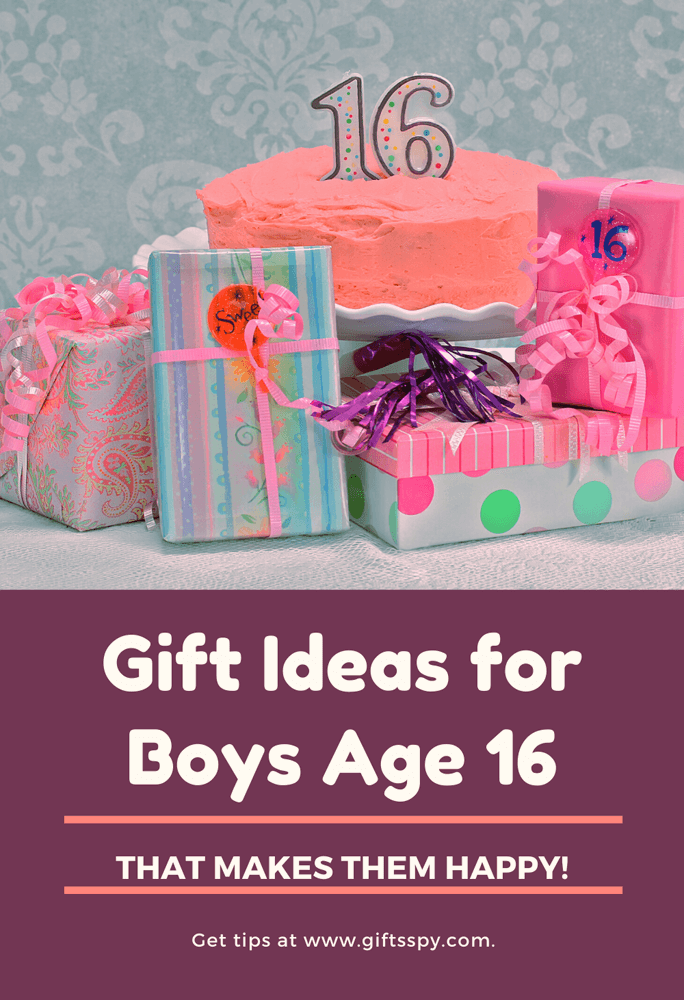 Gift Ideas For Boys Age 16