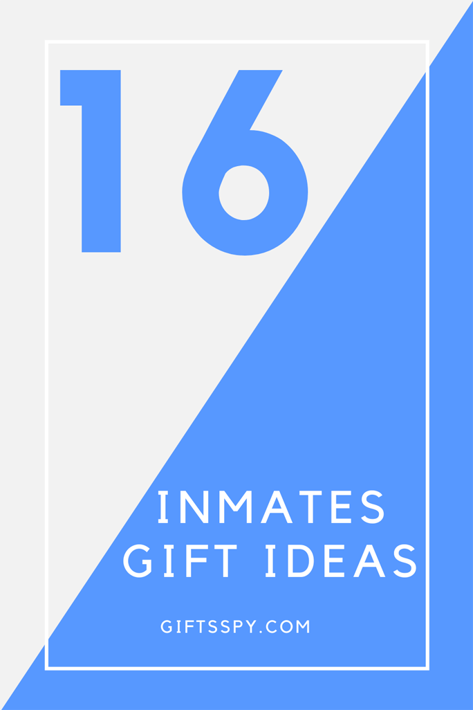 Gift Ideas for Inmates