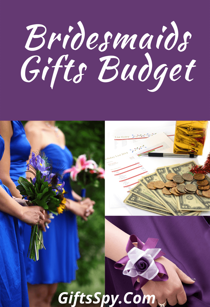 How Much to Spend on Bridesmaids Gifts