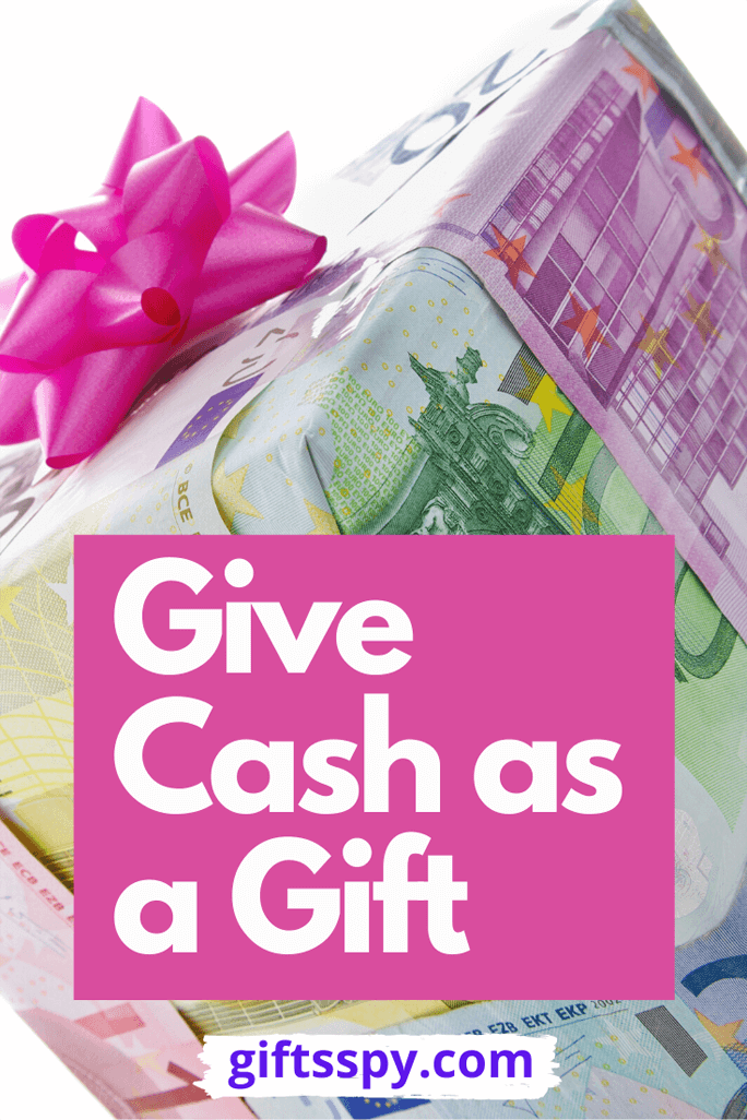 How to Give Money as Gift