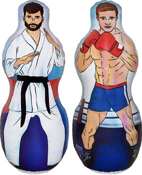 ImpiriLux Inflatable Two-Sided Karate Punching Bag