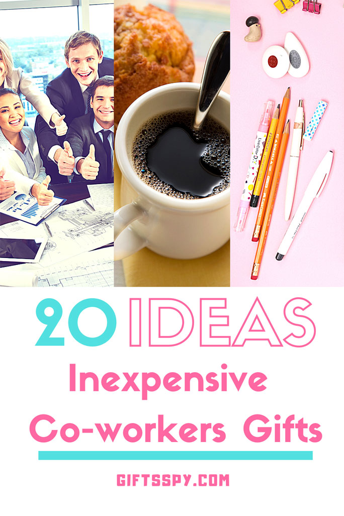 Inexpensive Gifts for Co-workers