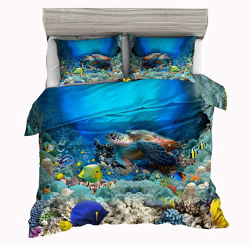 Jwellking-3D-Turtle-Bedding-Sets