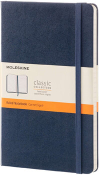Moleskine Classic Notebook with Hard Cover
