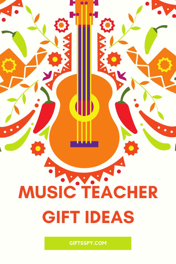 Music Teacher Gift Ideas