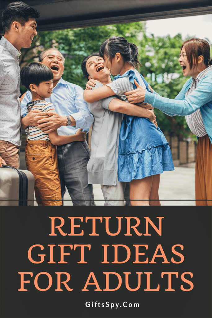 Return Gift Ideas For Adults
