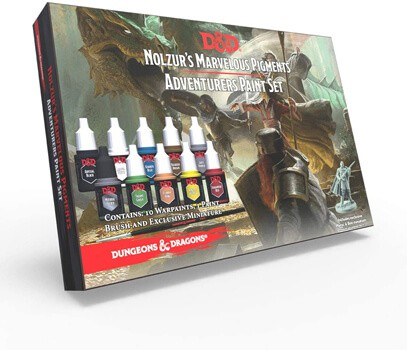 The Army Painter Dungeons and Dragons Official Paint Line