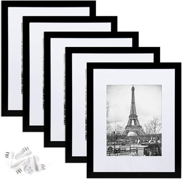 Upsimples picture frame set of 5