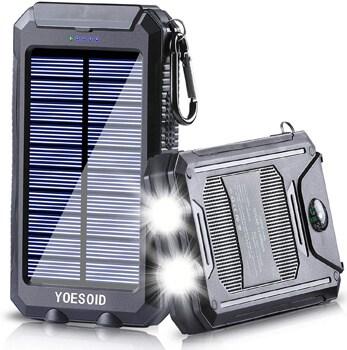 YOESOID Portable Solar Power Bank
