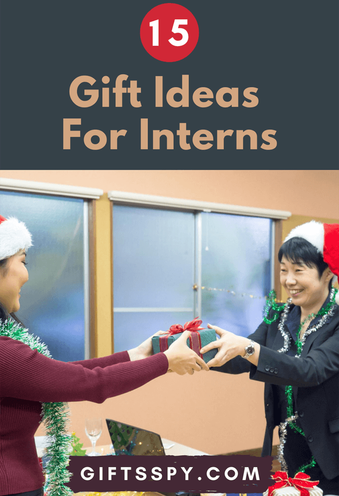 Gift Ideas for Interns