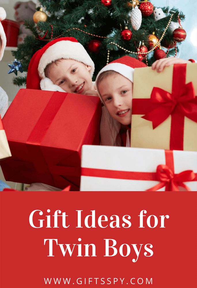 Gift Ideas for Twin Boys