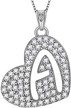 A-Z English Alphabet Fashion Name Pendant