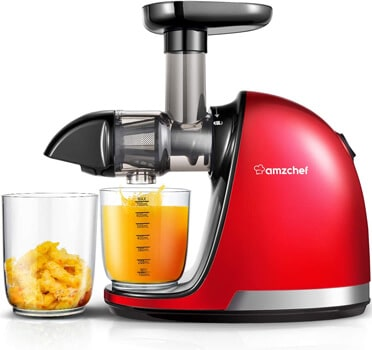 AMZCHEF Professional Cold Press Juicer Extractor Machine