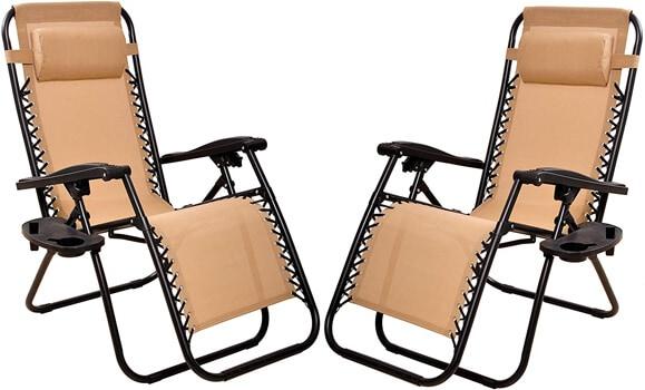 BalanceFrom Adjustable Zero Gravity Lounge Chair