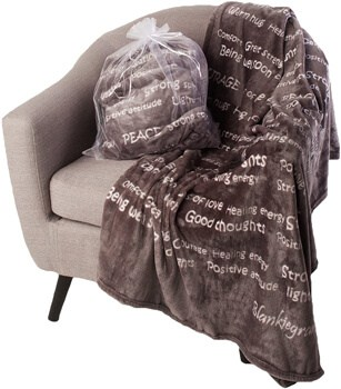 BlankieGram Healing Thoughts Blanket The Ultimate Healing Gift