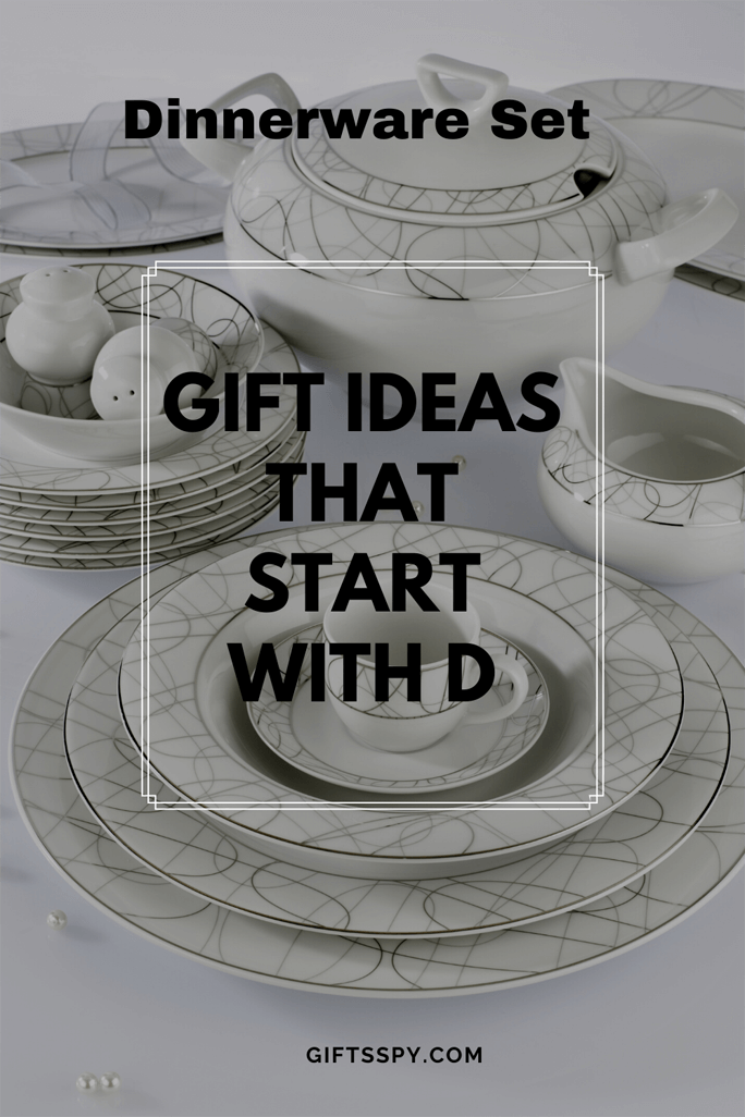 Gift Ideas that Start with D