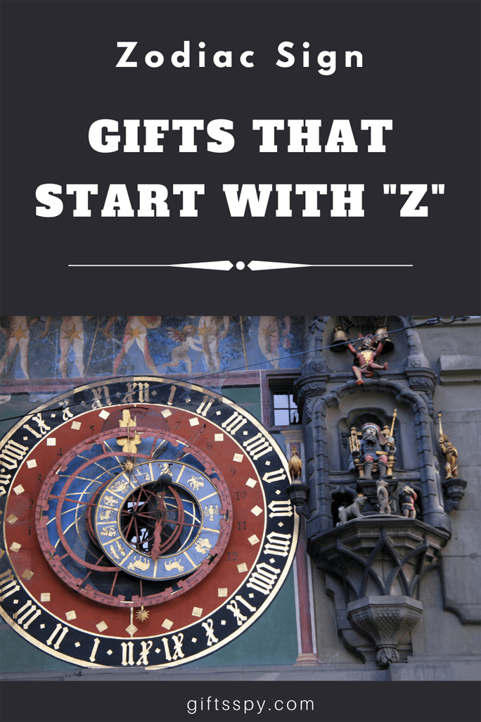 Gifts that Starts with Z