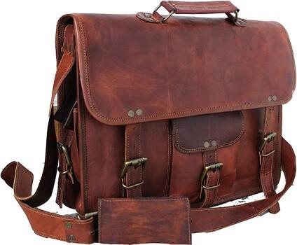 Handmadecraft Leather Unisex Real Leather Messenger Bag