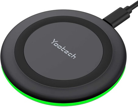 Yootech Qi-Certified 10W Wireless Charger