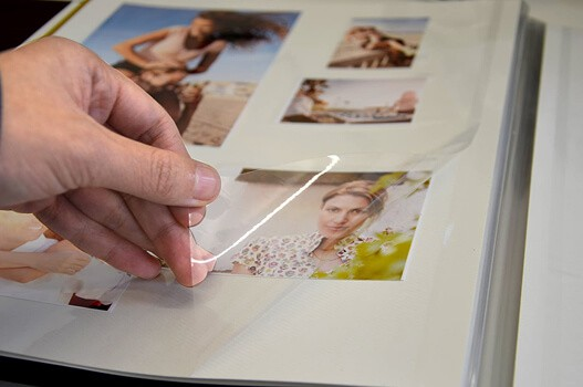 ZOVIEW Magnetic Self-Stick Page Photo Album